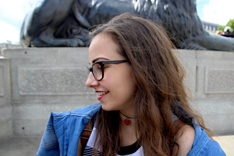 Karinka na Trafalgar Square