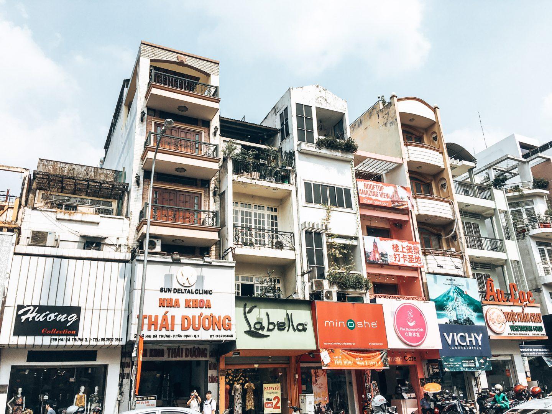 Typické mestské domy, Ho Či Minovo mesto